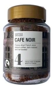 Marks & Spencer Cafe Noir French Style Freeze-Dried Instant Coffee 100g