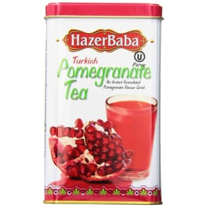 HazerBaba Turkish Pomegranate Tea Instant Granulated Drink 250g