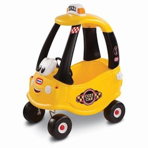 Little Tikes Yellow Cab Cozy Coupe Ride-on Toy Car