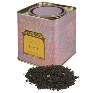 Fortnum & Mason Black Tea with Lemon 125g Loose Leaf Tin