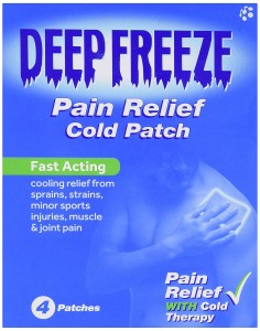 Deep Freeze Pain Relief Cold Patch 4s