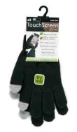 Men's Stretch Touch Screen Gloves Black