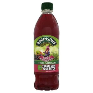 Robinsons Apple & Blackcurrant Fruit Squash 1L
