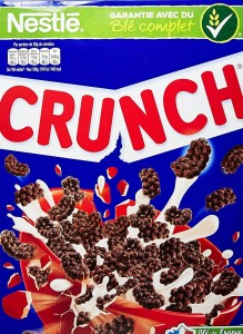Nestle CRUNCH Crunchy Chocolate Cereals 375g