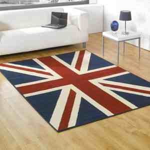 Buckingham Union Jack Rug 120 x 160cm