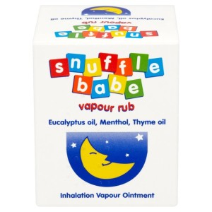 Snufflebabe Inhalation Vapour Ointment Rub 24g