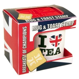 Breakfast Of Champions Union Jack Mug & Toast Stamp