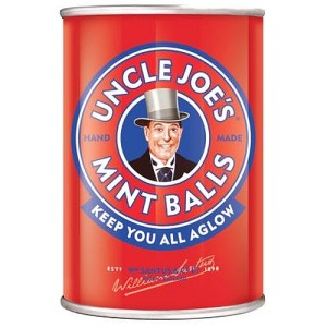 Uncle Joe's Premium English Mint Balls Tin 120g