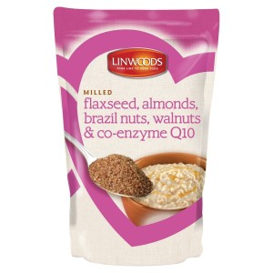 Linwoods Milled CO-Q10, Flaxseed, Almonds, Brazil & Walnuts 200g