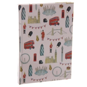 London Design Hardback Notebook A6