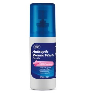 Boots Antiseptic Wound Wash Spray 100ml