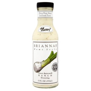 Brianna's Classic Buttermilk Ranch Dressing 355ml