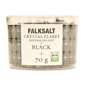 Falksalt Black Crystal Sea Salt Flakes 70g