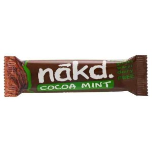 Nakd Free From Cocoa Mint Bar 35g