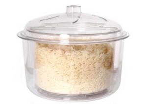 Non Staining Rice and Vegetable Steamer 2.5L