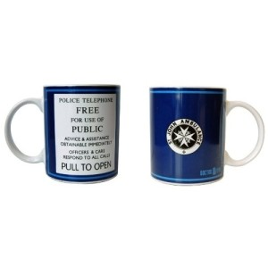 Doctor Who Tardis Police Sign Mug 312ml