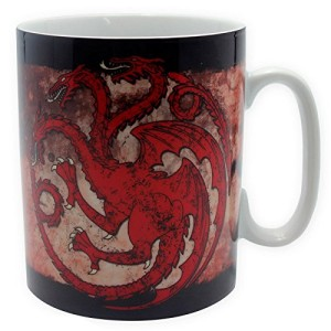 Game of Thrones Large Porcelain Targaryen Mug 460ml