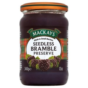 Mackays Seedless Bramble Preserve 340g
