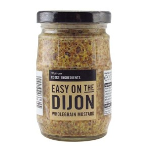 Cooks' Ingredients Dijon Coarse Mustard Waitrose 195g