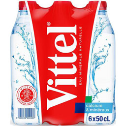 Vittel Still Mineral Water 24 x 500ml