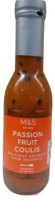 Marks & Spencer Passion Fruit Coulis