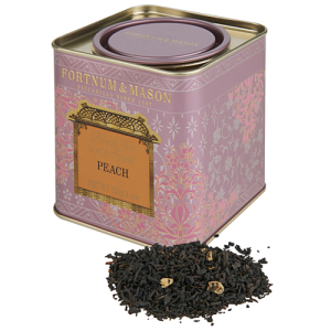 Fortnum & Mason Black Tea with Peach, Loose Leaf Tin 125g