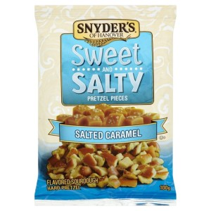 Snyder's Sweet & Salty Pretzel Pieces 100g