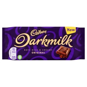 Cadbury Darkmilk Rich & Creamy Original Chocolate 85g