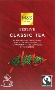 Marks & Spencer Classic Festive Black Tea 40 Teabags