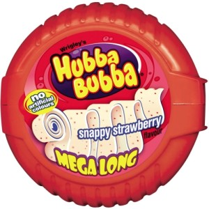 Wrigley's Hubba Bubba Bubble Tape - Snappy Strawberry 70g