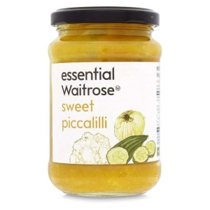 Sweet Piccalilli essential Waitrose 275g