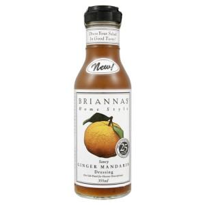 Brianna's Ginger Mandarin Saucy dressing 355ml