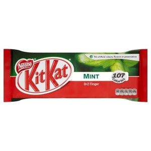 Kit Kat 2 Finger Mint Chocolate Bar 8 x 20.8g - miętowy KitKat 8 x 20.8g