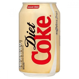 Diet Coke Caffeine Free 330ml