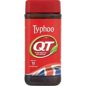 Typhoo QT Instant Black Tea with Whitener 225g