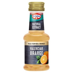 Dr Oetker Natural Valencian Orange Extract 35ml