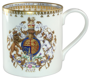 Britannia Official Queen's Diamond Jubilee China Mug
