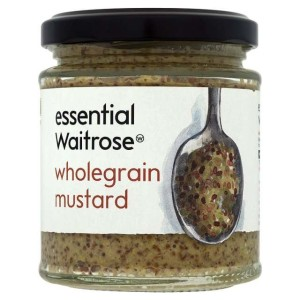 Wholegrain Mustard essential Waitrose 185g