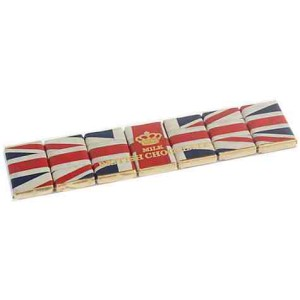 House of Dorchester Flying the Flag Chocolate Slims 60g