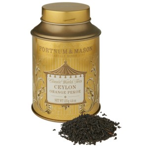 Fortnum & Mason Ceylon Orange Pekoe Loose Leaf Tea Tin 125g