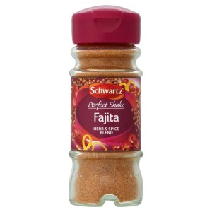 Schwartz Perfect Shake Fajita Seasoning Jar 46g