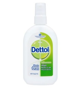 Dettol Antiseptic Wound Wash Spray 100ml