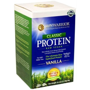 Sunwarrior Ultimate Raw Superfood Protein Vanilla Powder 1Kg