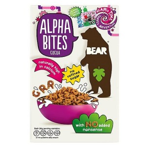 Bear Alphabites Cocoa Cereal 375g