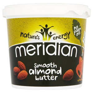 Meridian Smooth Almond Butter 100% Nuts 1kg