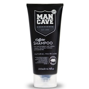 ManCave Clean & Strengthen Natural Caffeine Shampoo 200ml