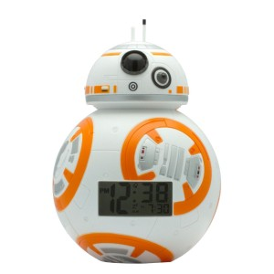 BulbBotz Star Wars BB-8 Night Light & Alarm Clock