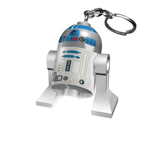 Lego Lights Star Wars R2D2 Keyring with LED light