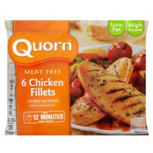 Quorn Chicken Fillets Frozen 300g
