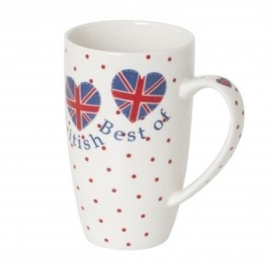 Best of British China Mug 360ml